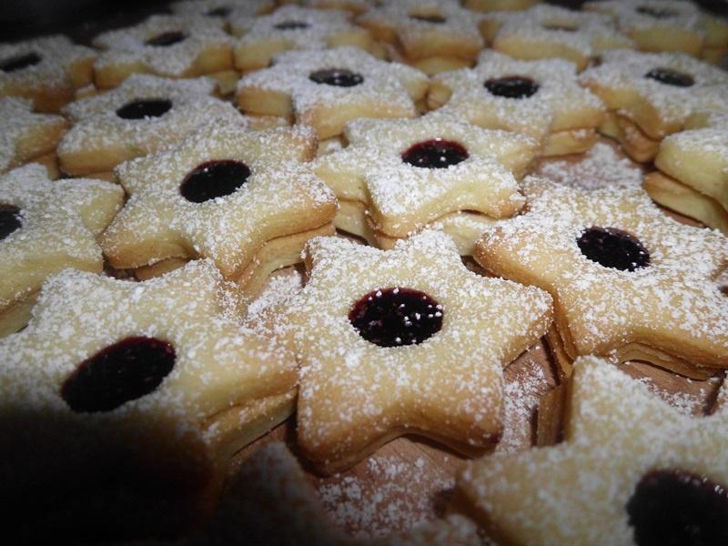 Weihnachtskekse mit Marmelande