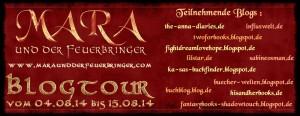 """Faninterviews zur """"Mara und der Feuerbringer"""" Blogtour"""
