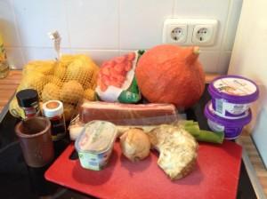 Kürbis – Curry Eintopf