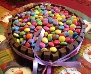 super einfache Torte mit großem Wow-Effekt