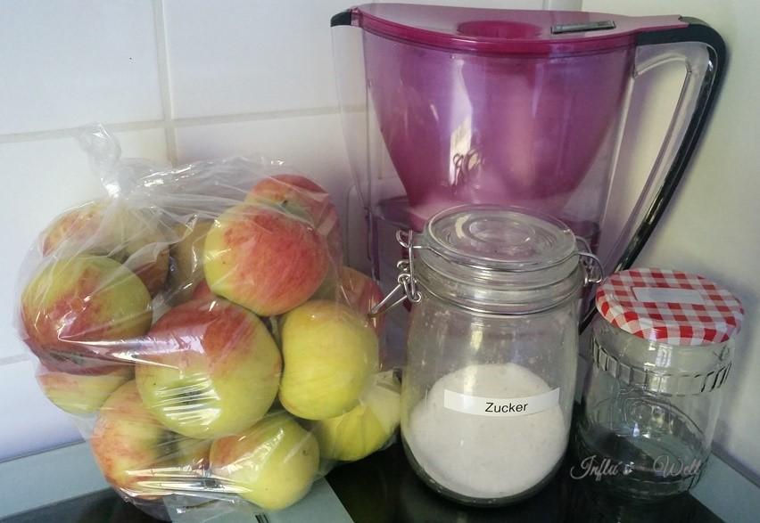 Zutaten für Apfelmus