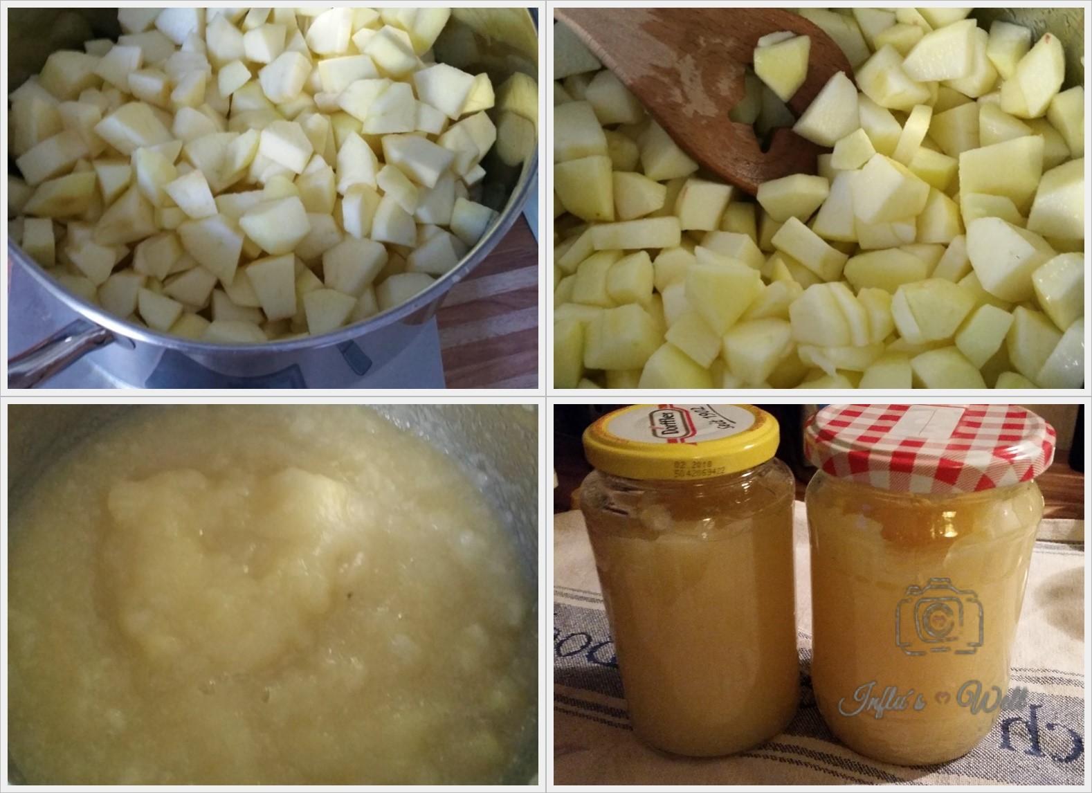 Apfelmus / Apfelkompott kochen
