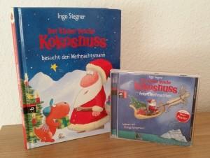 der kleine Drache Kokosnuss feiert Weihnachten als Buch und Hörbuch für Kinder