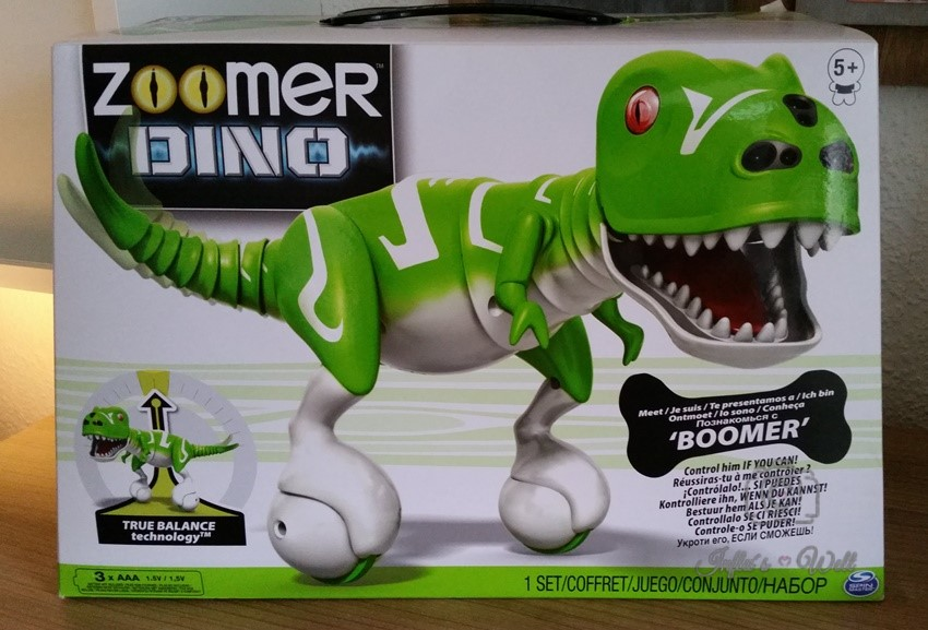 """Zoomer Dino """"Boomer"""" von Spinmaster"""