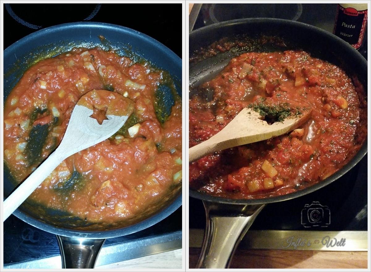 Low Carb Tomatensauce kochen