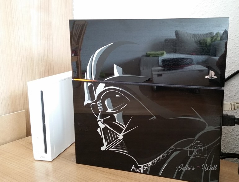 Wii und Playstation 4 in der limitierten Star Wars Edition