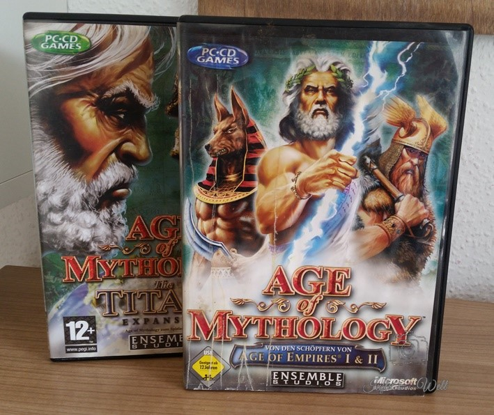 Age of Mythology CDs