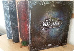 Word of Warcraft Collectors Edtions
