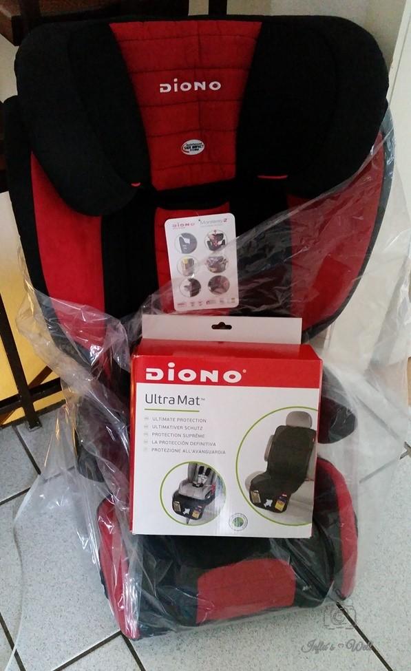 Diono Monterey2 Booster Kindersitz + Diono UltraMat Schutzmatte frisch geliefert