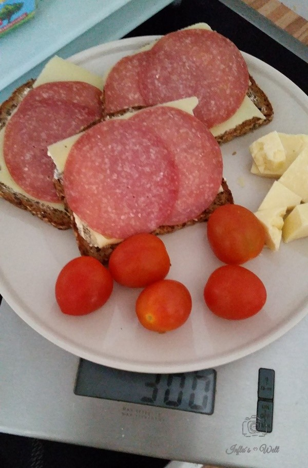 300 Gramm Low Carb Mahlzeit