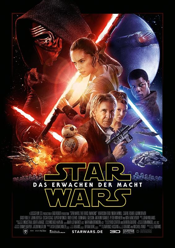 Star Wars das Erwachen der Macht offizielles Hauptplakat