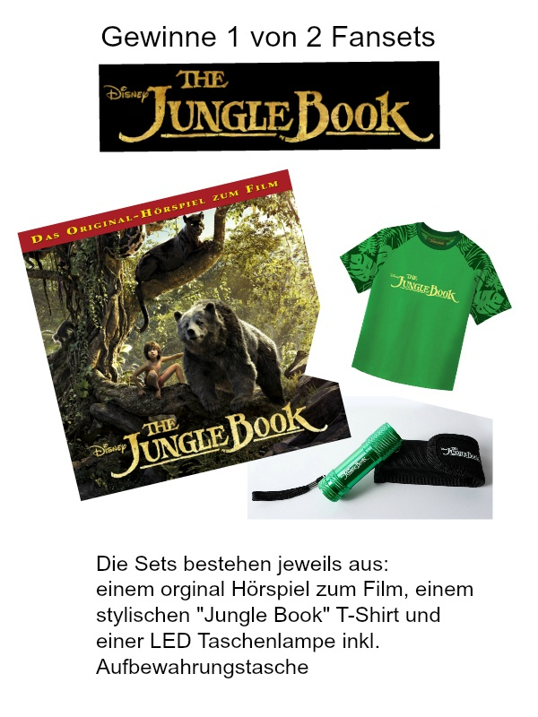 Jungle Book Verlosung
