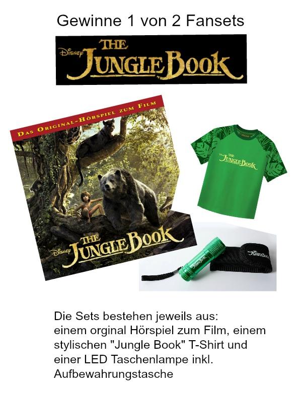Jungle Book Verlosung