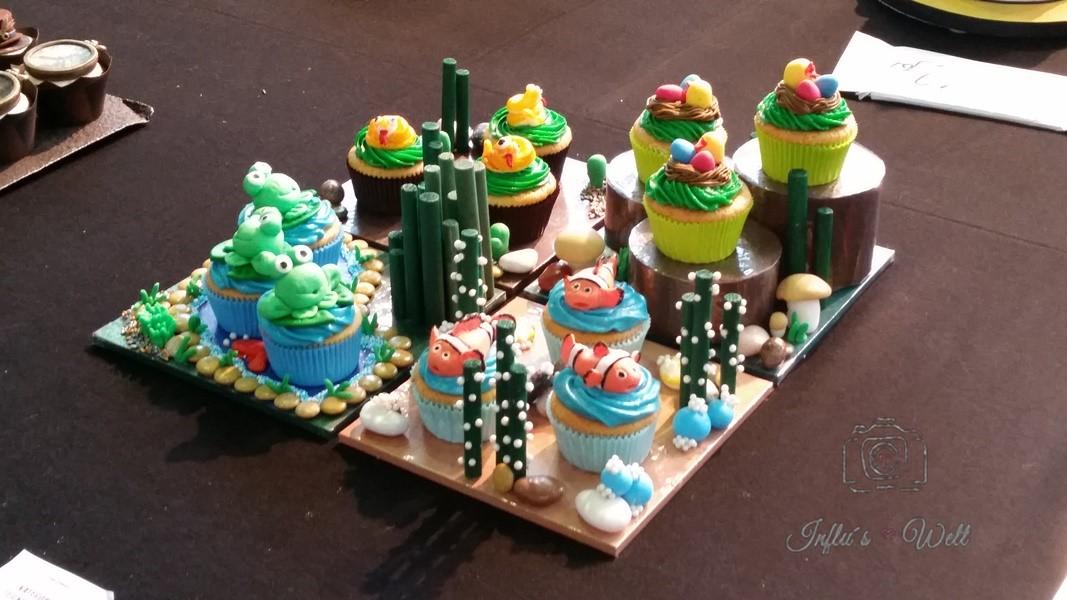 Nemo Cupcakes cake and bake