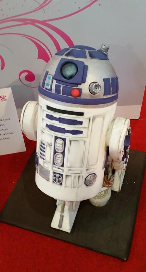 R2D2 Torte auf der Cake and Bake