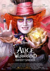 Alice im Wunderland hinter den Spiegeln offizielles Filmplakat