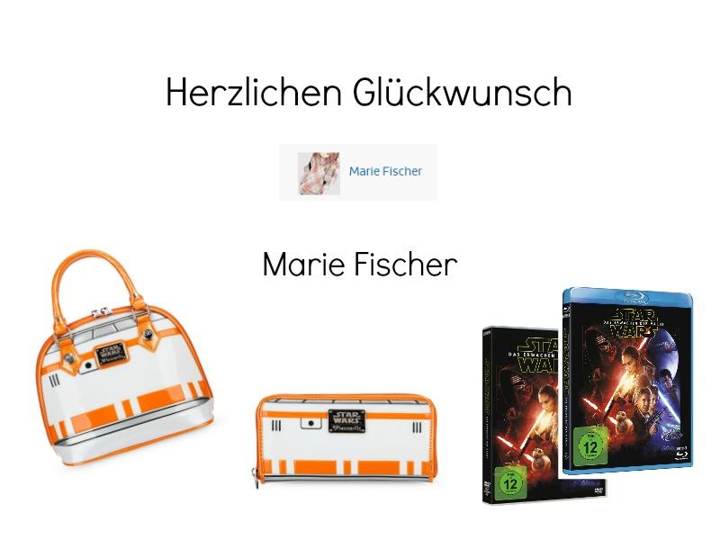 Gewinner Star Wars BB-8 Kreativ Wettbewerb