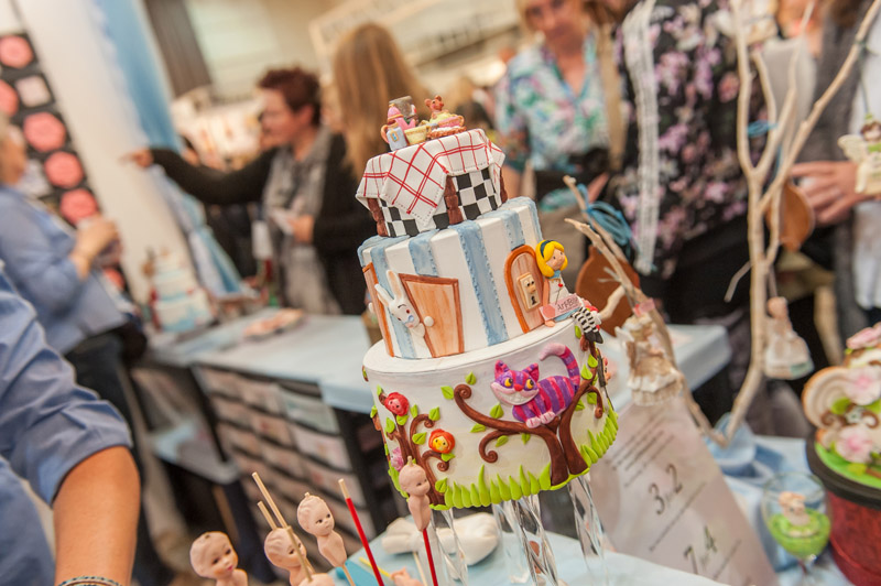 Cake and bake 2015 Alice im Wunderland Torte