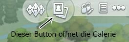 Sims4 Interface oben rechts