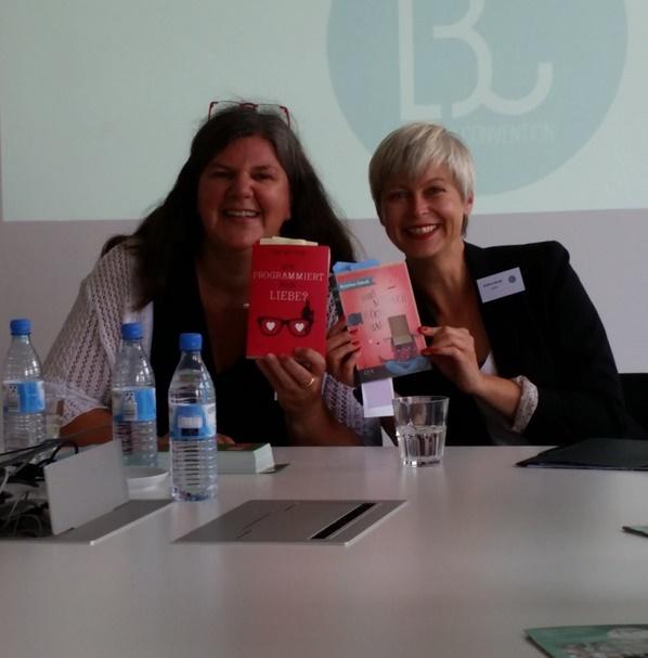 Lesung von Kristina Günak und Tinna Brömme auf der #LBC16