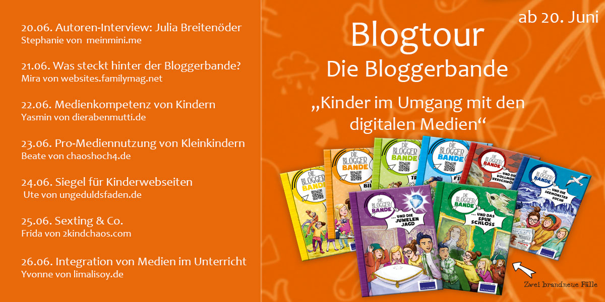 Blogtour Fahrplan Bloggerbande