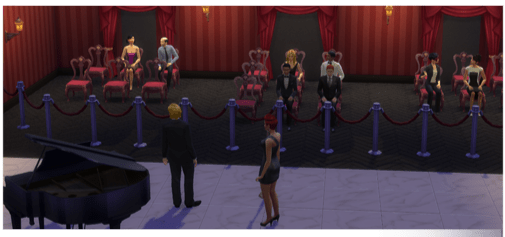 Entertainer Karriere in die Sims4