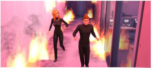 Geheimagenten Karriere in die Sims4