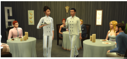 Leckermaul Karriere in die Sims4