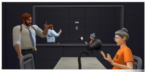 Polizei Karriere in die Sims4
