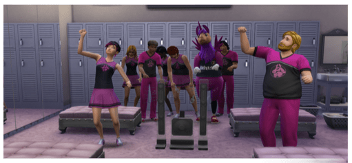 Sportler Karriere in die Sims4