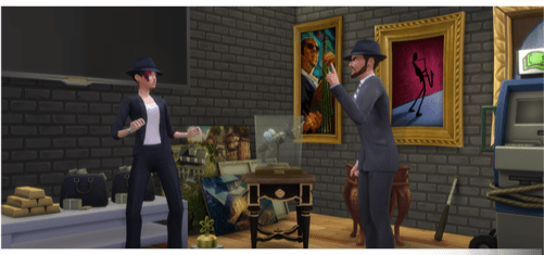 Verbrecher Karriere in die Sims4