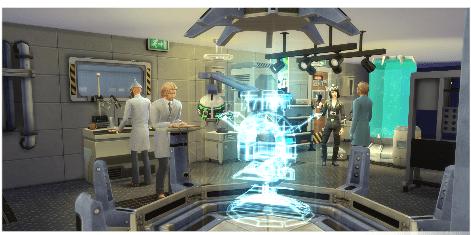 Wissenschaft Karriere in die Sims4