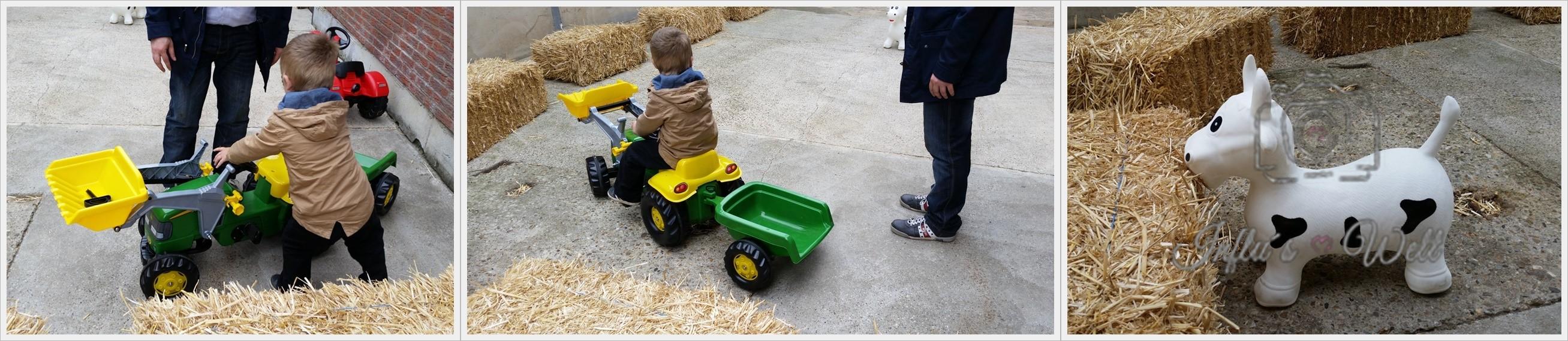 kleine Milchbauern in Ausbildung