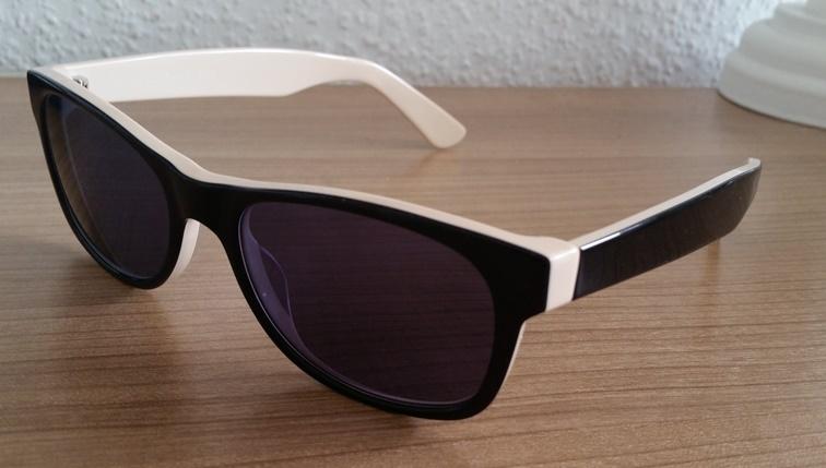 Harrison Sonnenbrille aus der Spex Collection von Mister Spex Seitenansicht