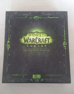 World of Warcraft Legion CE unboxing