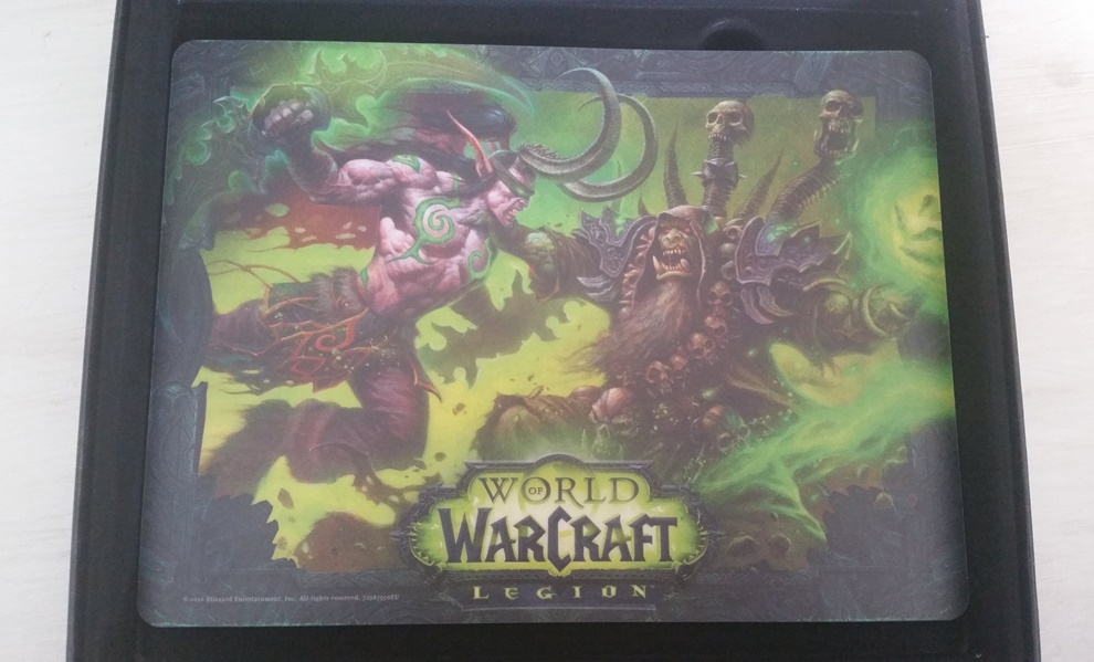 World of Warcraft Legion Collectors Edition Mousepad