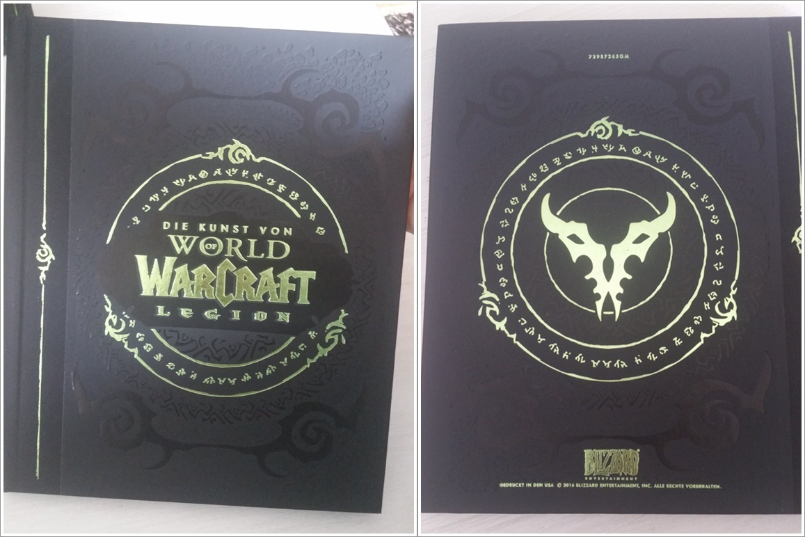 World of Warcraft Legion Collectors Edition Artbook Cover