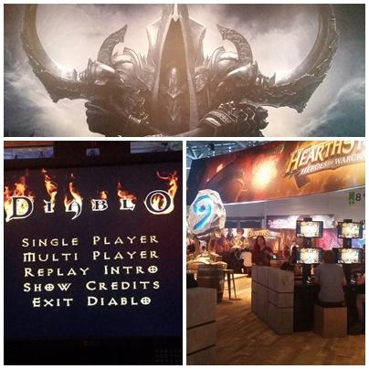 Einblicke vom Blizzard Stand auf der gamescom 2016