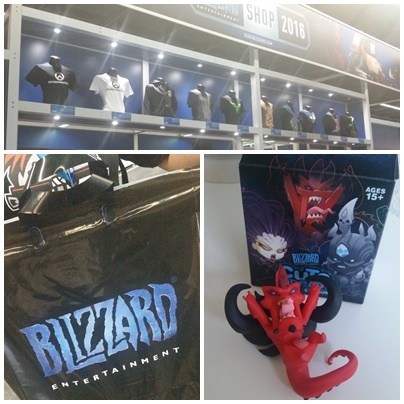 Der Blizzard Shop auf der GamesCom 2016