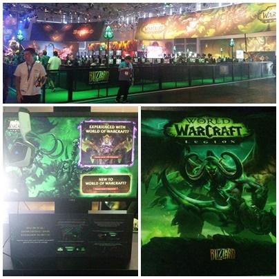 Blizzard World of Warcraft Legion auf der gamescom 2016