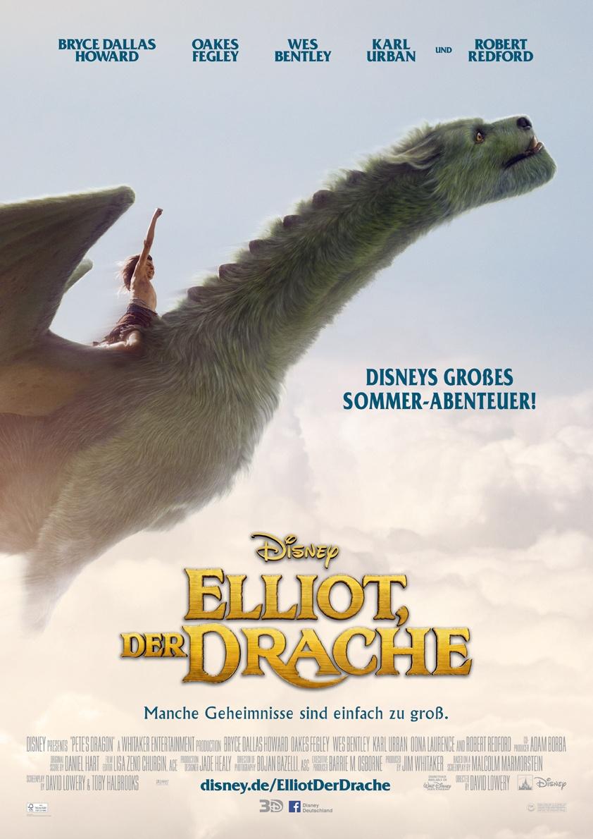 Disneys Elliot der Drache Kinoplakat