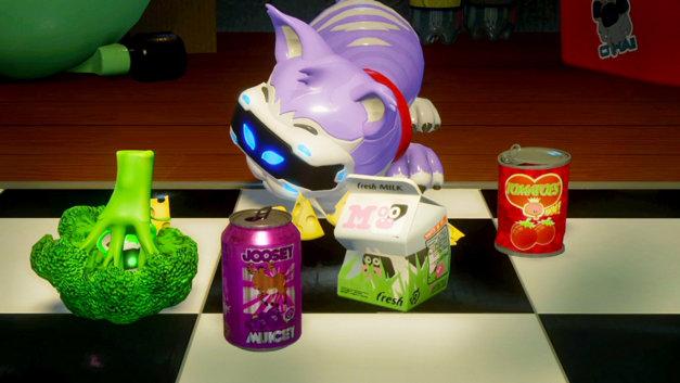 Playroom VR Katz und Mausspiel