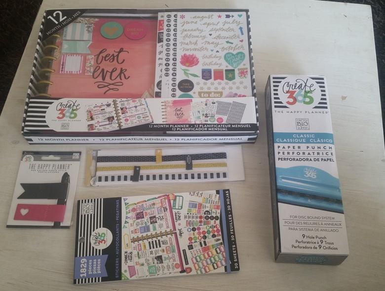 Happy Planner Bestellung von der Scrapbookwerkstatt