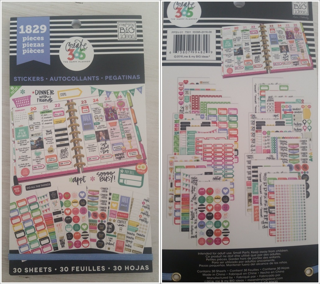 Happy Planner Planner Basics Stickerbook