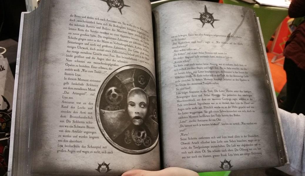 ein Einblick in die Amizaras Chronik von Valerian Caithoque auf der Frankfurter Buchmesse 2016