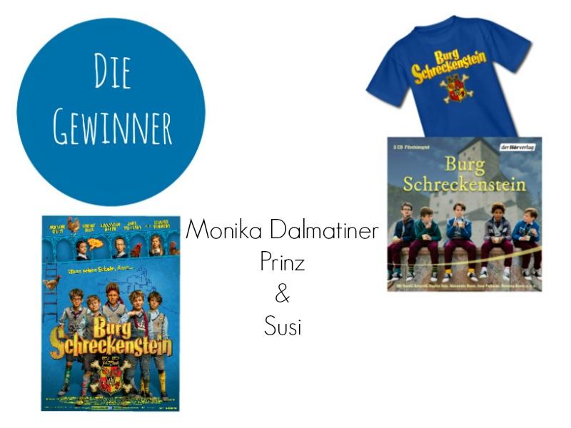 Gewinner der Burg Schreckenstein Verlosung