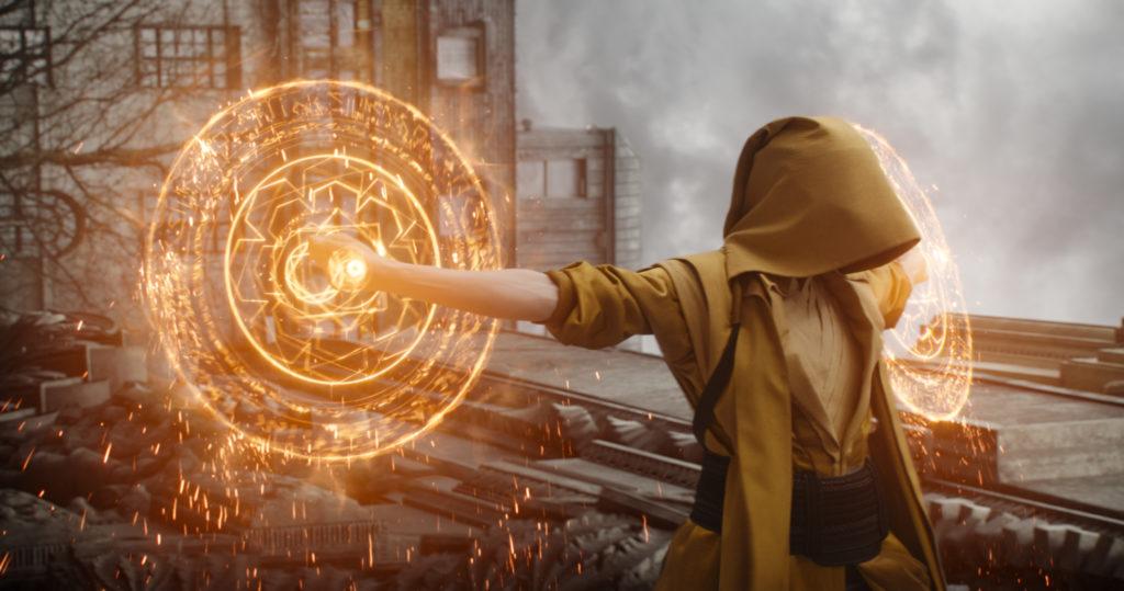 Tilda Swinton als die Älteste in Marvels Doctor Strange