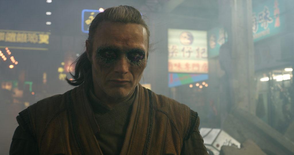Mads Mikkelsen als Kaecilius in Marvels Doctor Strange