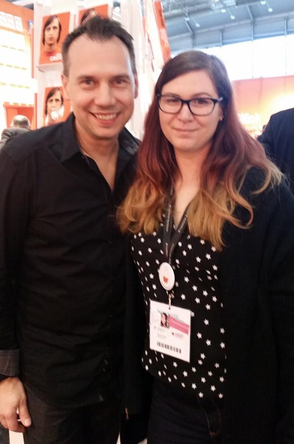 Sebastian Fitzek auf der Frankfurter Buchmesse 2016