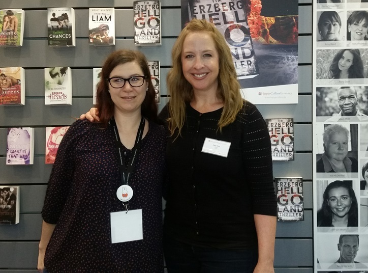 Paige Toon auf der Frankfurter Buchmesse 2016